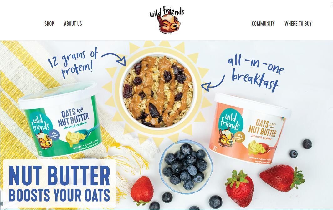 非转基因坚果食品商 Wild Friends Foods 获得350万美元种子轮投资