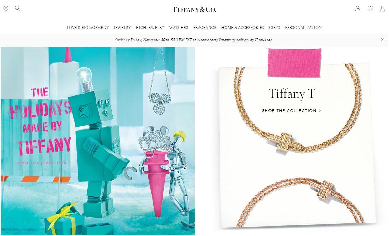 中国游客海外购物热情下降,Tiffany 第三季度销售增长大幅放缓