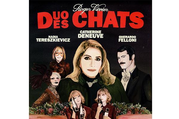 与 Roger Vivier渊源深厚的法国传奇女演员德纳芙出演品牌最新的广告短片