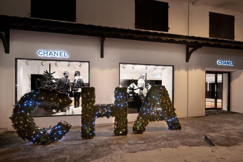 Chanel 连续第十年在法国高端滑雪胜地 Courchevel 推出游击店