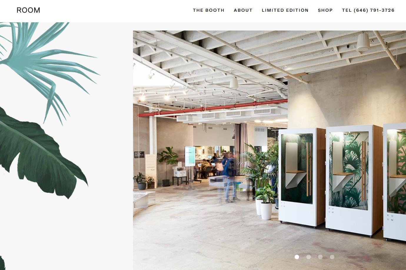 让开放办公空间更加环保和人性化:独立工位初创公司 ROOM