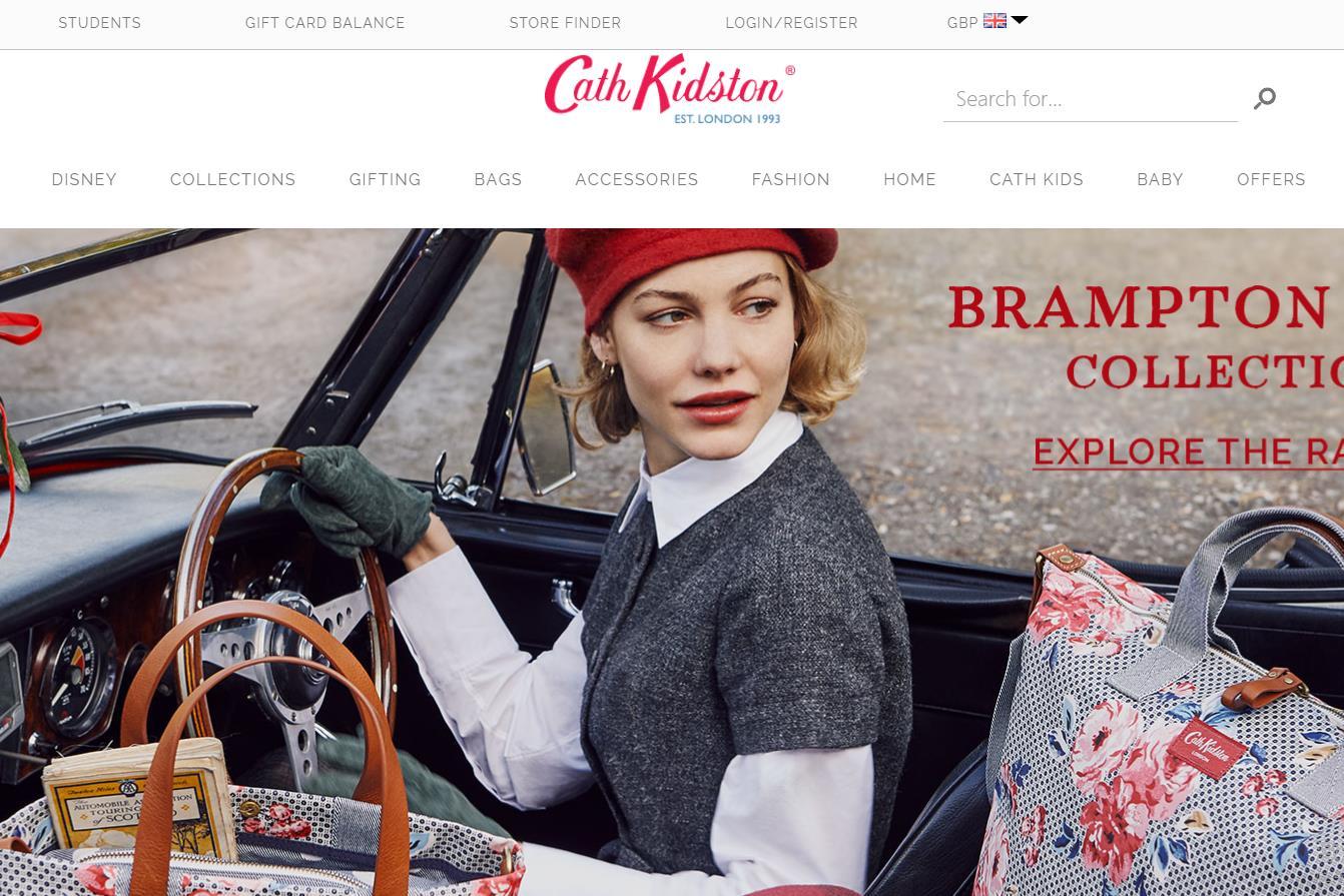 英国时尚品牌 Cath Kidston 上财年销售微涨但亏损扩大,着手拓展中国市场