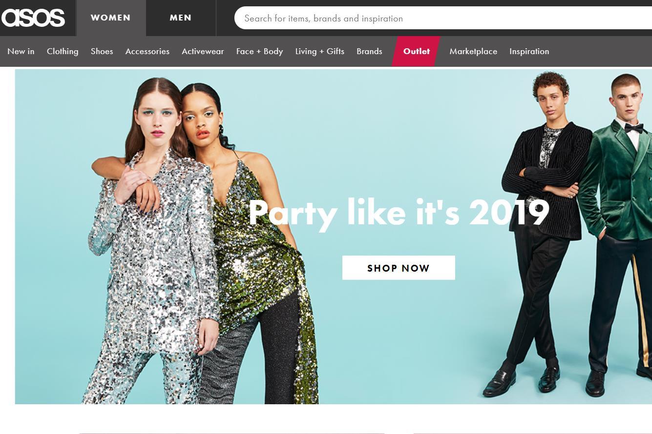 11月业绩恶化,英国时尚电商 ASOS 发布盈利预警,股价一日暴跌38%