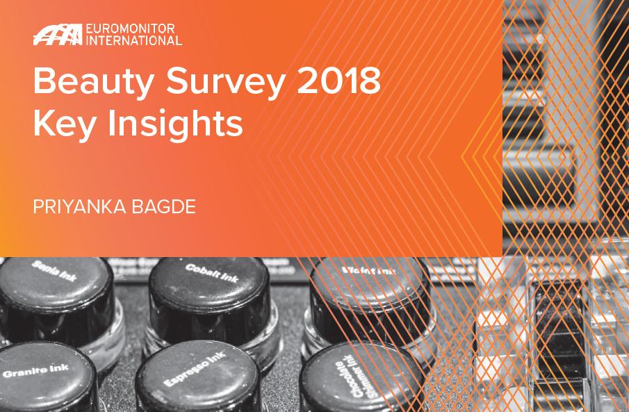 Euromonitor 2018年美妆行业洞察报告:50%以上消费者认为,皮肤健康才是真的美