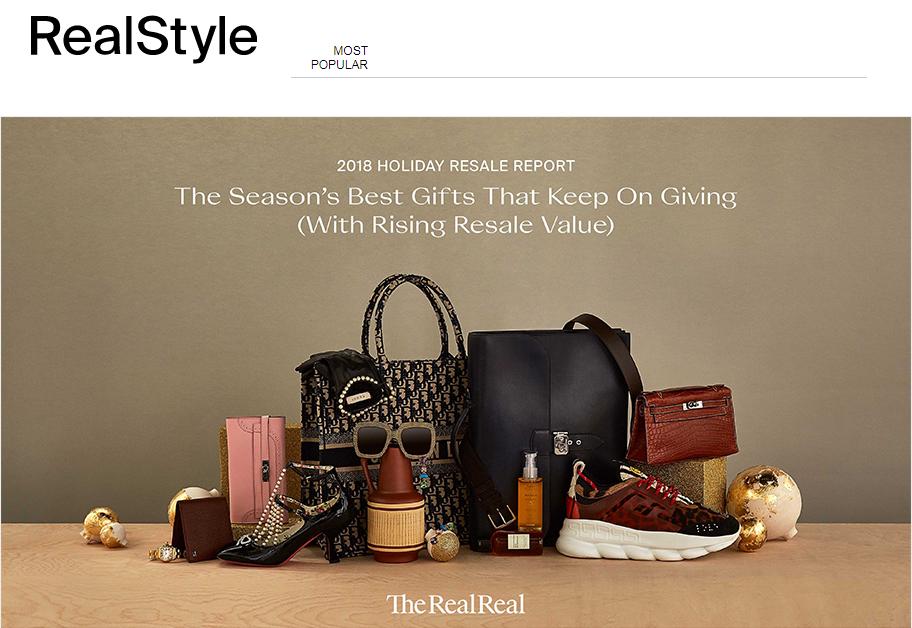 这个圣诞季,哪些二手奢侈品最保值?来自The RealReal 的最新报告