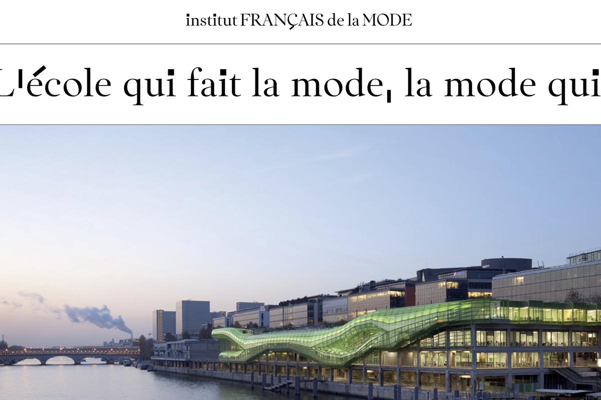 """法国时装学院 IFM 与巴黎时装工会学校 ECSCP 正式合并,号称""""全球最好的时装学院"""""""