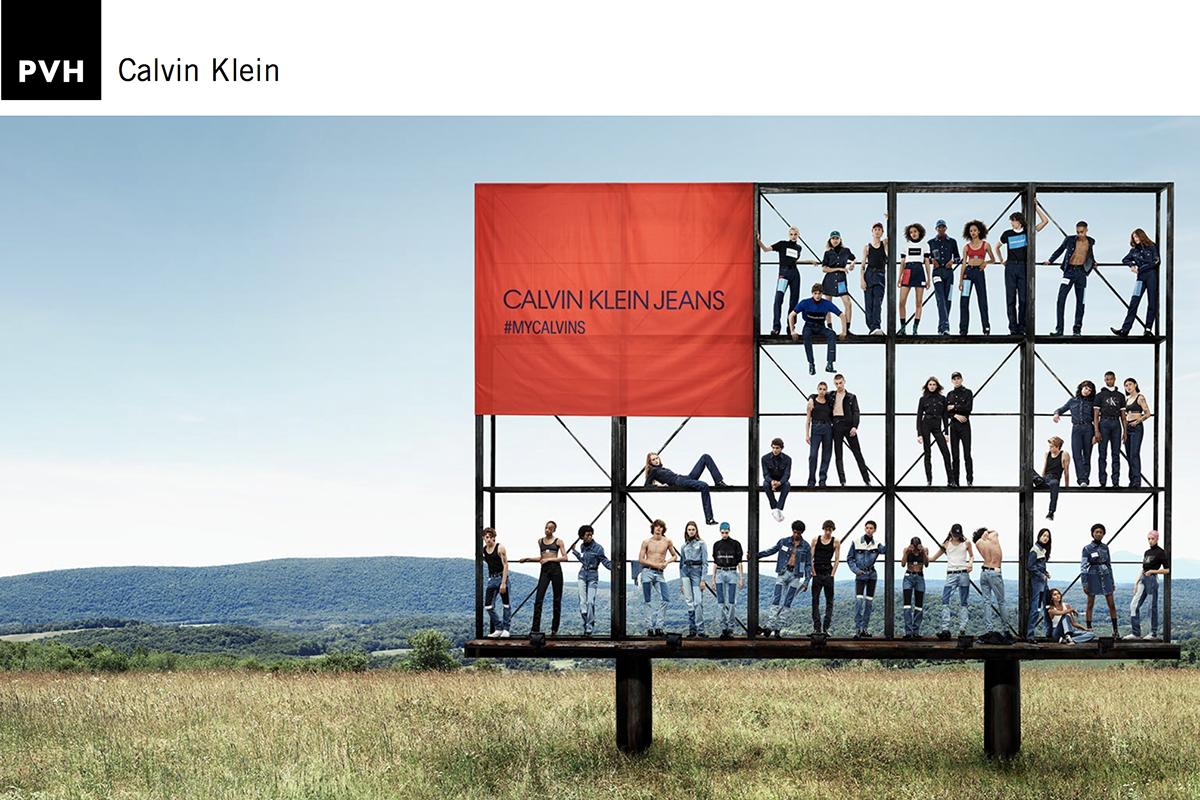 与 Raf Simons分手后的 Calvin Klein 公布最新战略,母公司 PVH集团上调2018年第四季度及全年预期
