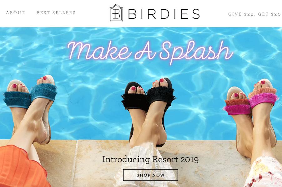 Facebook 前女高管创办的创新居家鞋品牌 Birdies 完成800万美元A轮融资