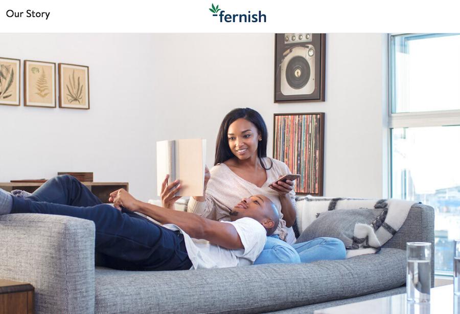 共享家具让搬家更轻松,美国按月订购家具供应商 Fernish 完成3000万美元融资