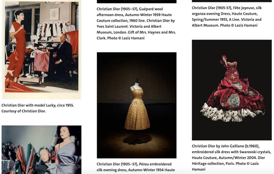 Christian Dior 联手伦敦V&A举办大型回顾展