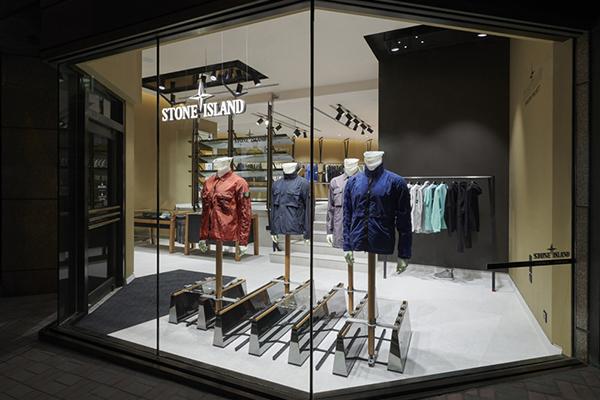 意大利男装品牌 Stone Island 2018年销售额近2亿欧元,中国首店落户香港