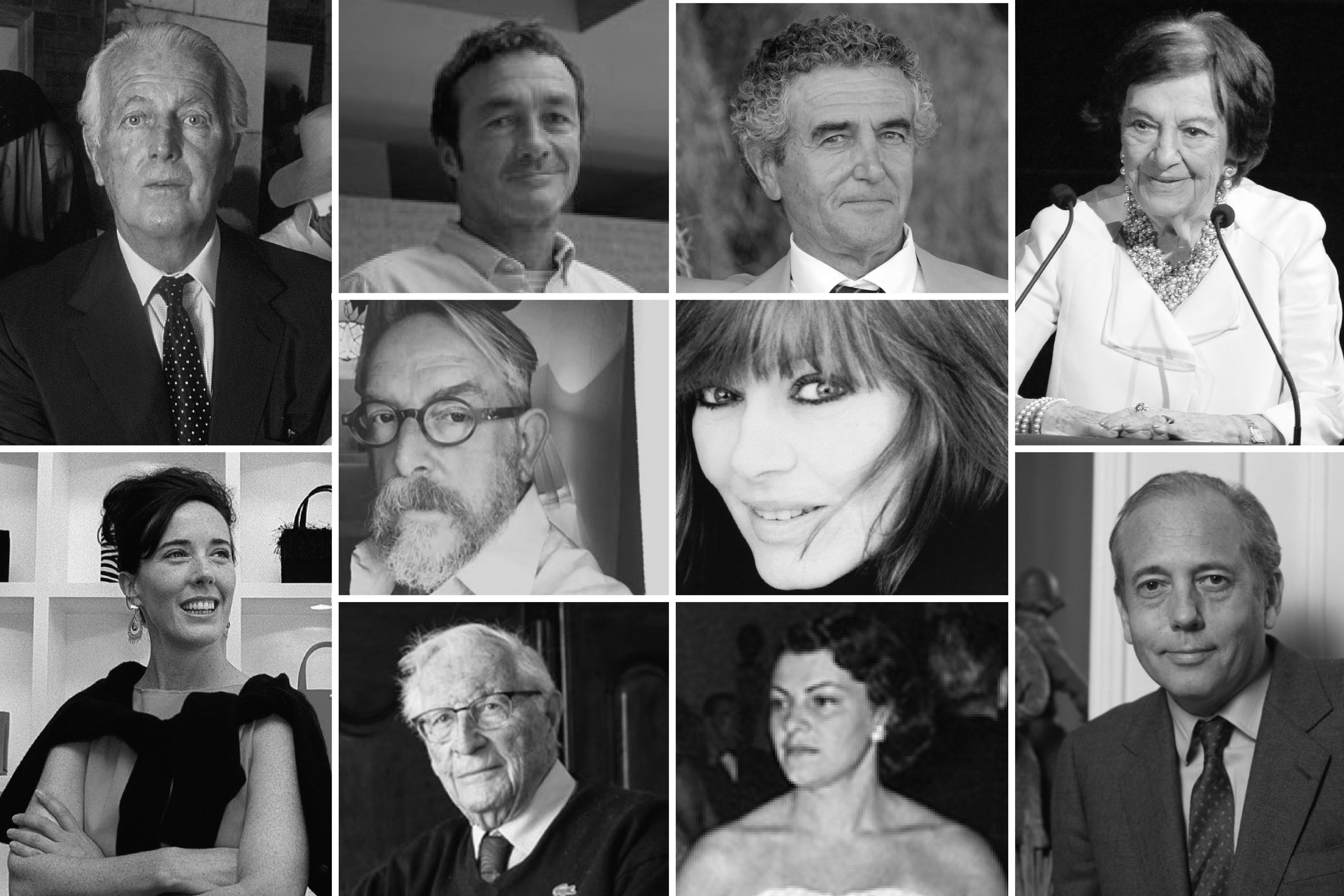 《华丽志》年终特稿 | 致敬2018年离开我们的10位重量级时尚人物