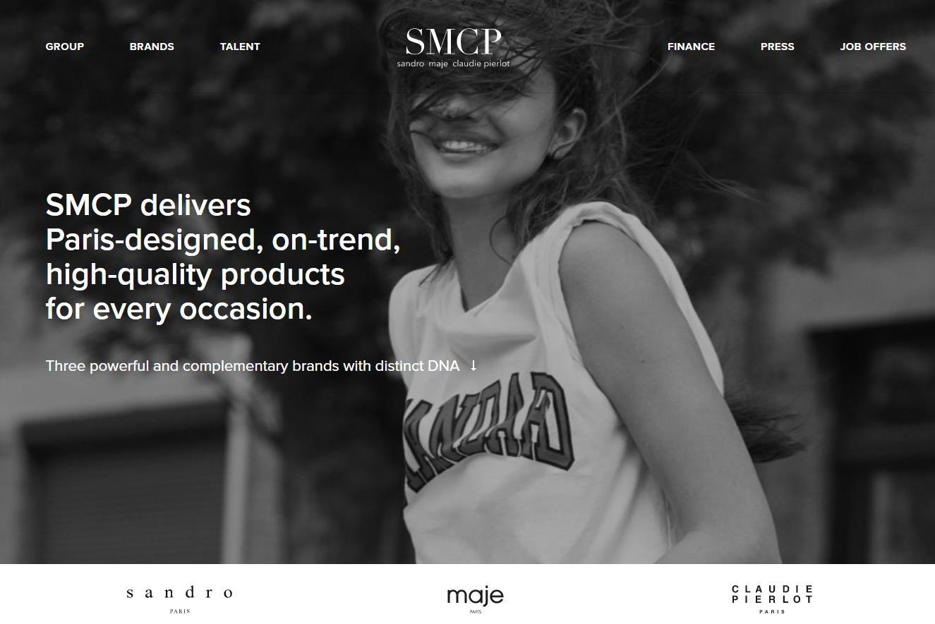 山东如意控股的法国时尚集团 SMCP 2018财年全年销售额首次突破10亿欧元