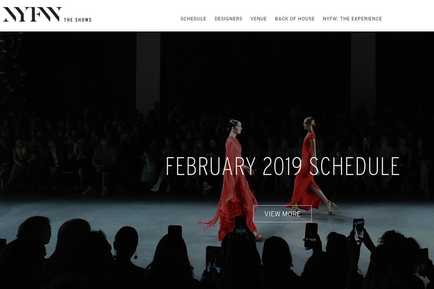 2019年2月纽约时装周官方日程表正式发布,28个华人设计师品牌将登台走秀