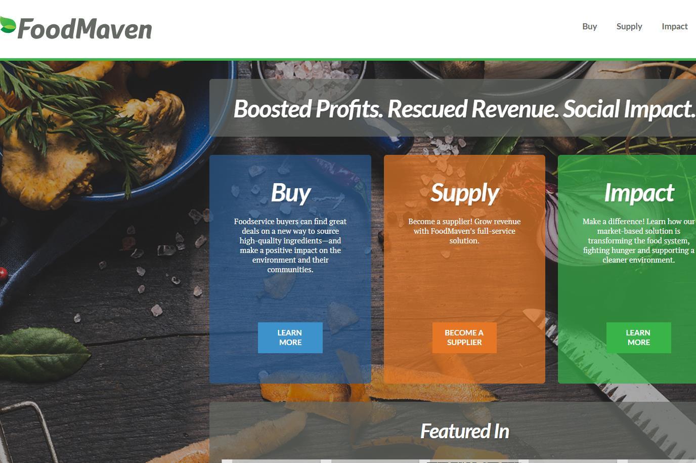 解决严重的食品浪费问题!美国食品分销初创公司 FoodMaven 又融资1000万美元,沃尔玛创始家族成员参投