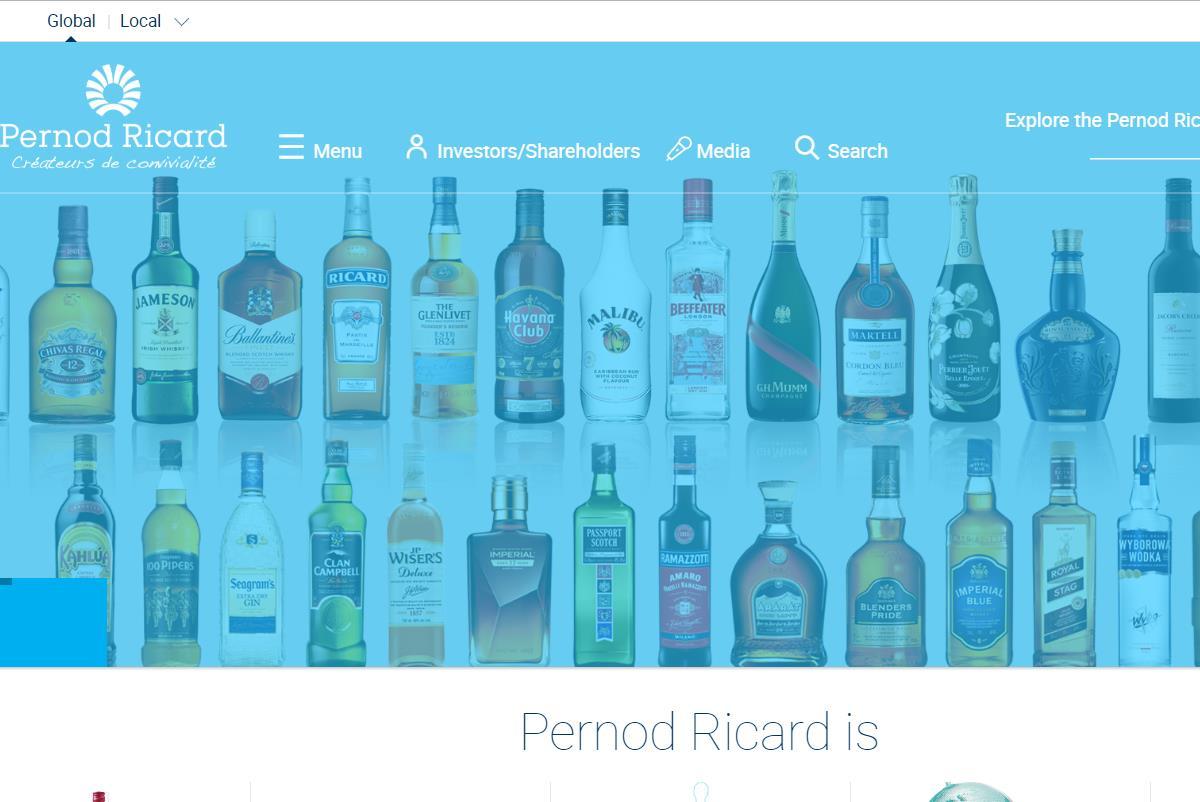 法国烈酒集团 Pernod Ricard 受美国对冲基金投资者施压,LVMH集团宣称无意收购