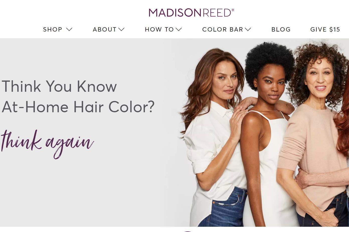 创新染发行业的领军品牌、Madison Reed 完成5100万美元D轮融资