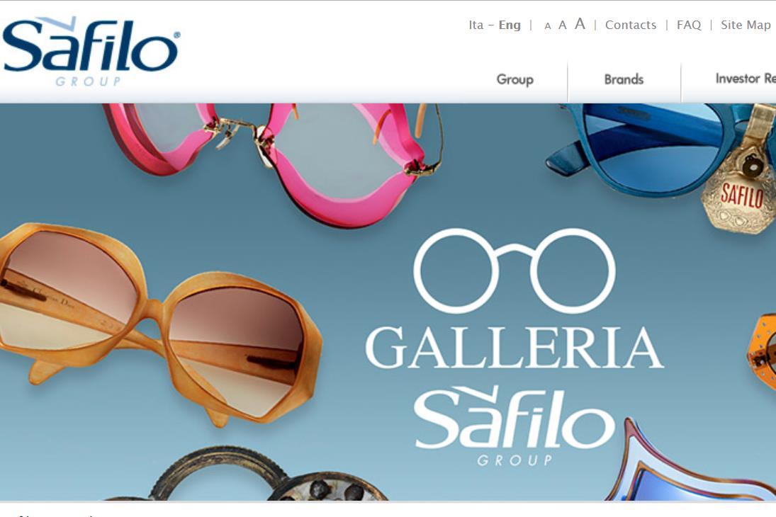 北美与亚太市场表现疲软,意大利高端眼镜集团 Safilo 2018财年销售额同比下降7% 至9.63亿欧元