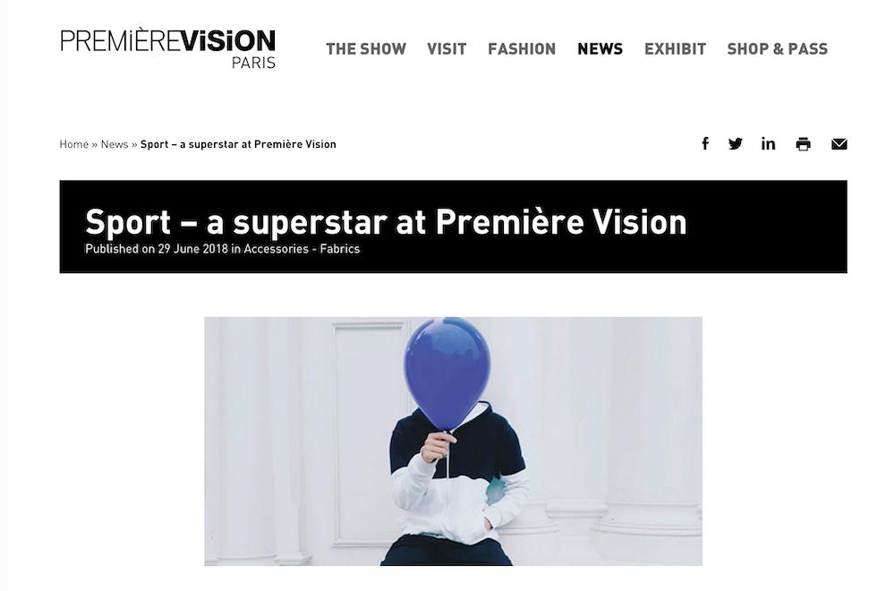 法国面料展主办方 Première Vision 将在美国波特兰推出运动面料贸易展会:Première Vision Sports