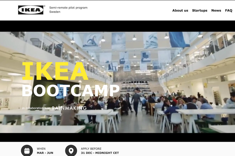 详解宜家创业孵化器 Bootcamp:全球80多个国家1000多家初创公司申请入驻