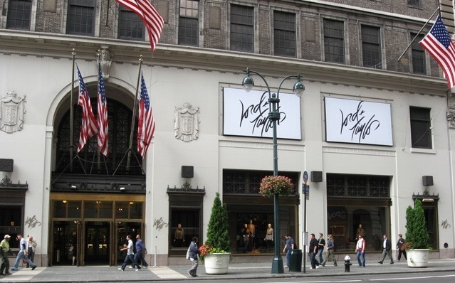 美国最古老的奢侈百货公司 Lord & Taylor 纽约第五大道旗舰店正式关闭