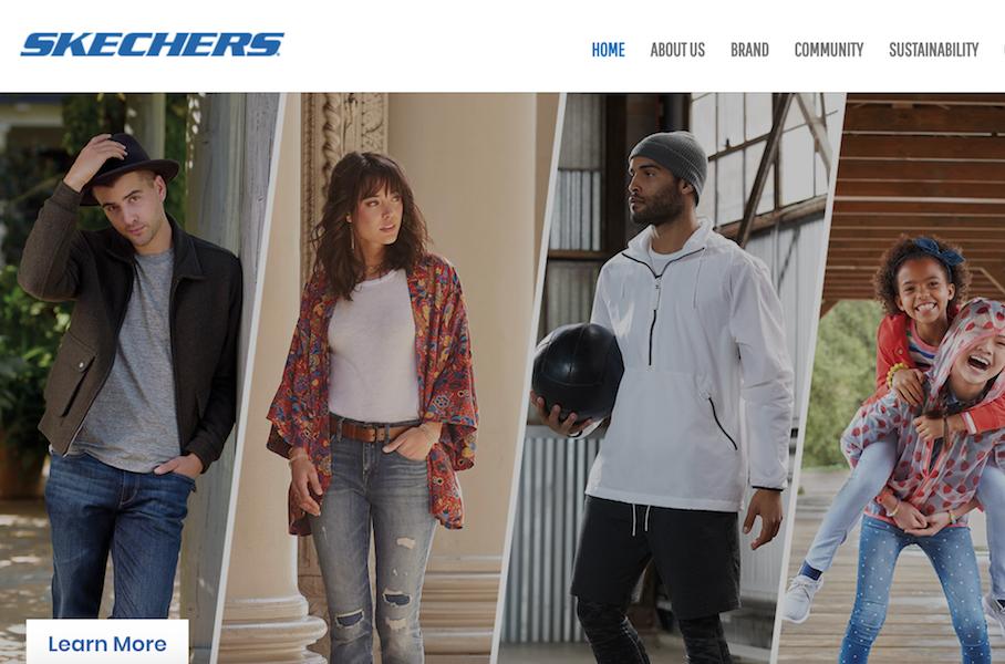 美国运动品牌 Skechers(斯凯奇)2018财年全年销售额达到创纪录的46.42亿美元