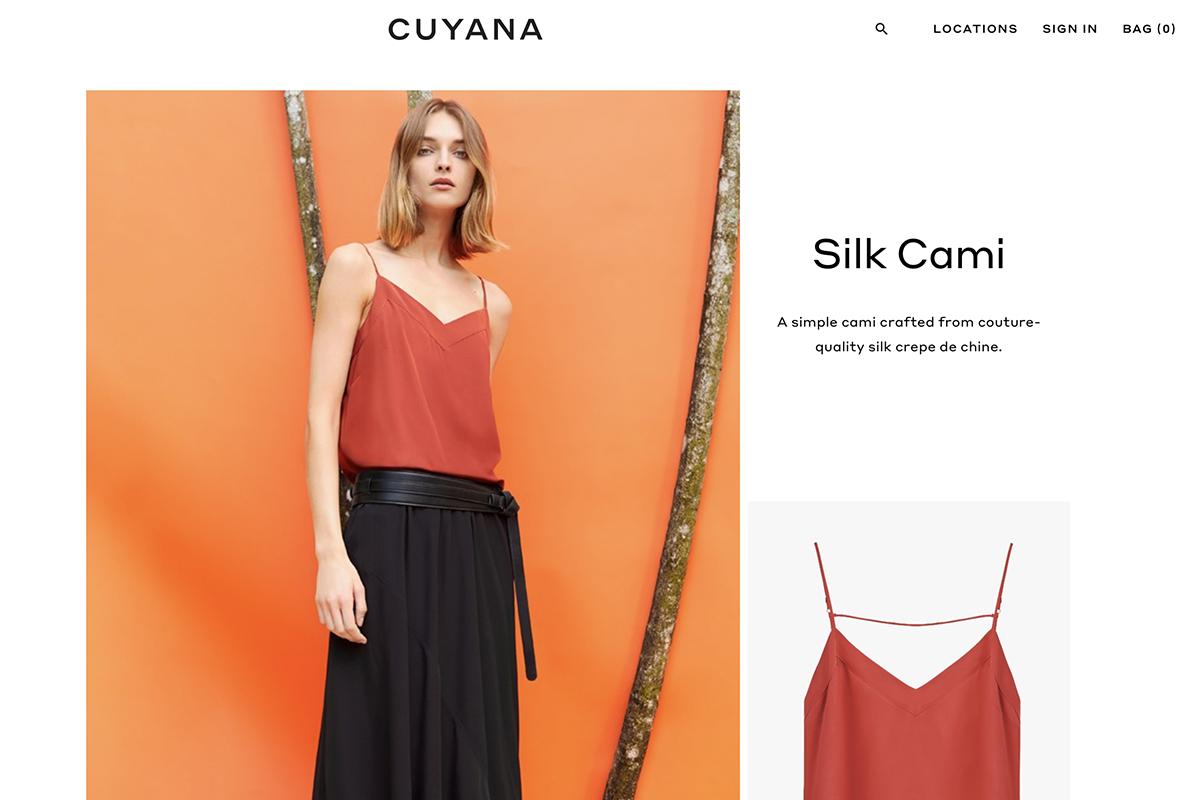"""投资者看好的""""下一个十亿美元级别的时尚品牌"""",由女性创办的 Cuyana 完成3000万美元融资"""