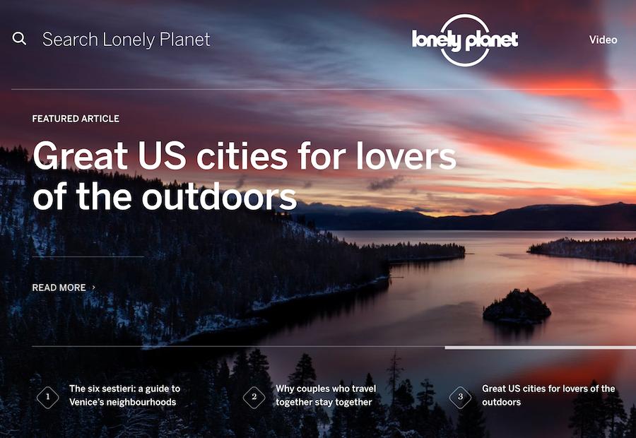 著名旅行指南 《LonelyPlanet 孤独星球》任命新 CEO,立志转型为全渠道旅游平台