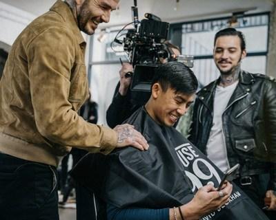 理发偶遇idol,贝克汉姆个人男士理容品牌 House99 一周年给粉丝惊喜