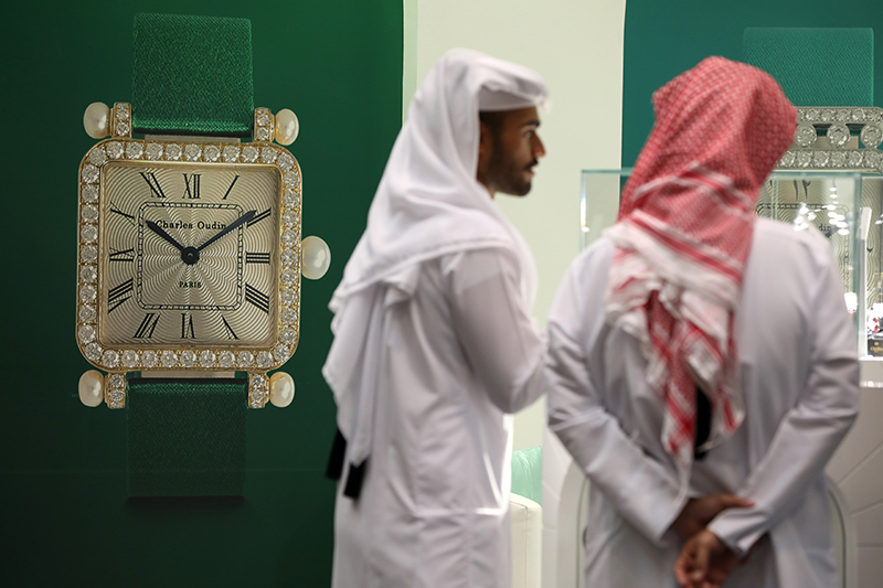 第十六届多哈手表珠宝展正式闭幕,外交危机下卡塔尔人奢侈品购物热情不减