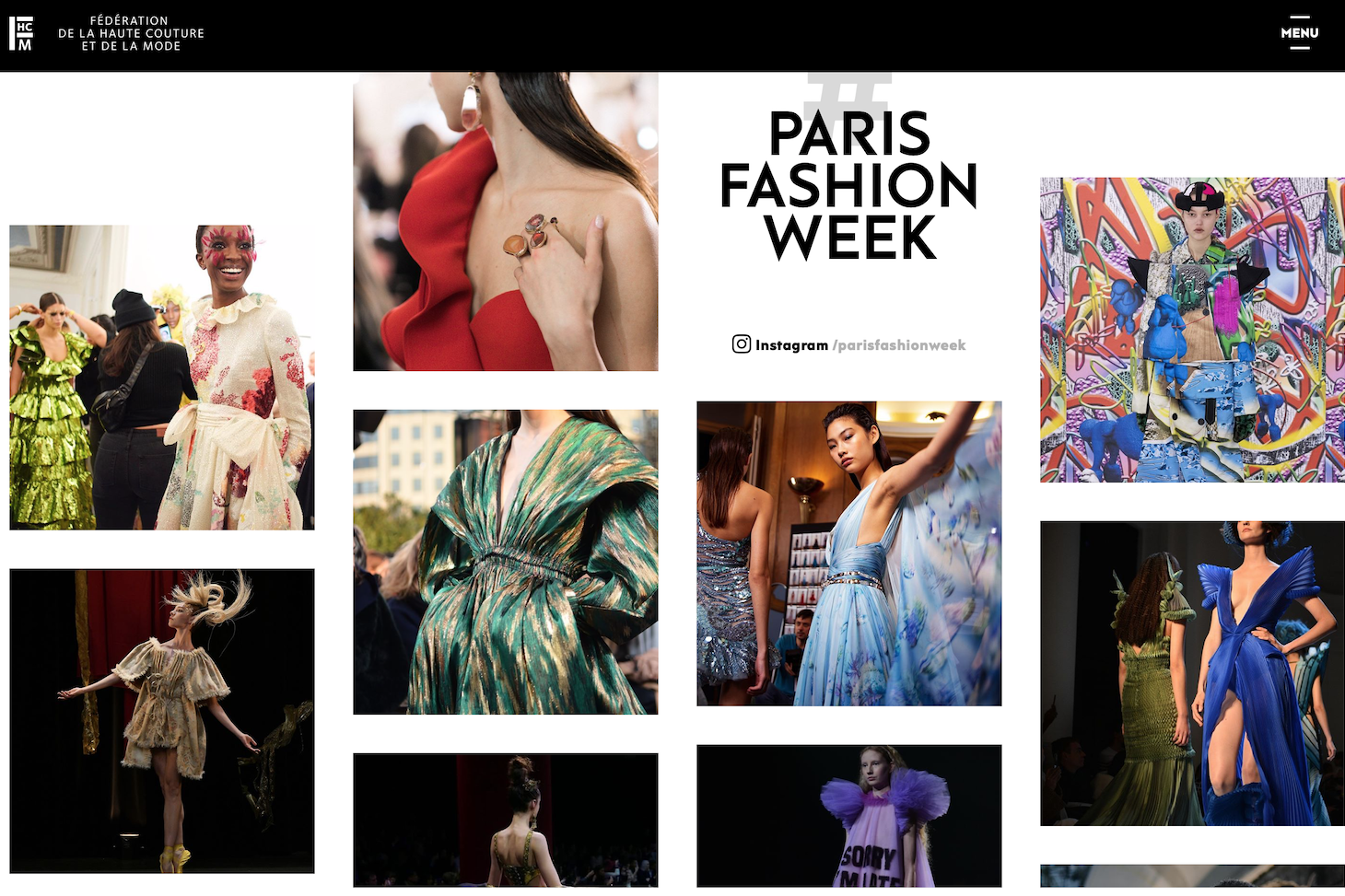 2月巴黎女装周发布官方日程,五位华人设计师参与
