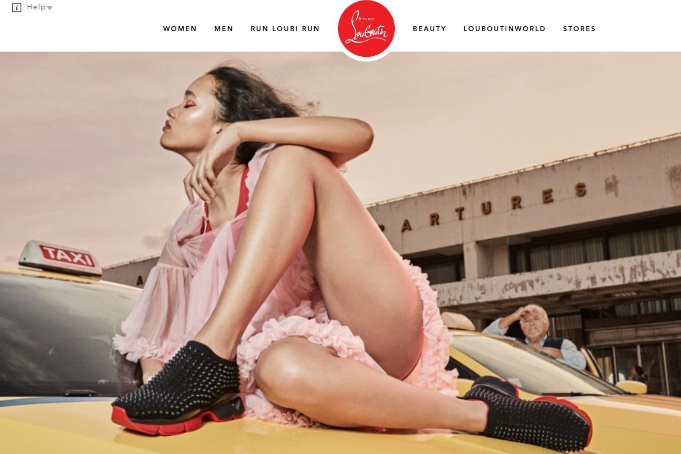 Christian Louboutin 发布与美国 R&B 歌手 Quincy Brown 合作的新款运动鞋短片