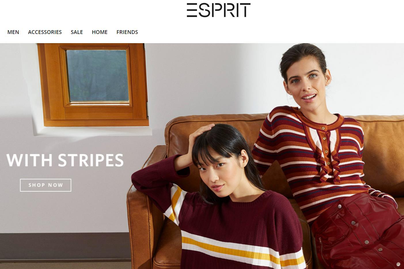 香港时尚集团 Esprit 转型阵痛还将持续至少两年,2018/2019上半财年销售下滑 14.4%