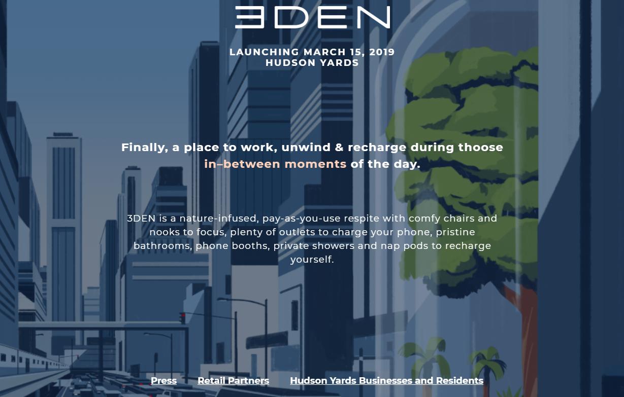 """打造不一样的""""第三空间"""",集咖啡馆,酒店和健身房于一体:3DEN 完成200万美元融资"""