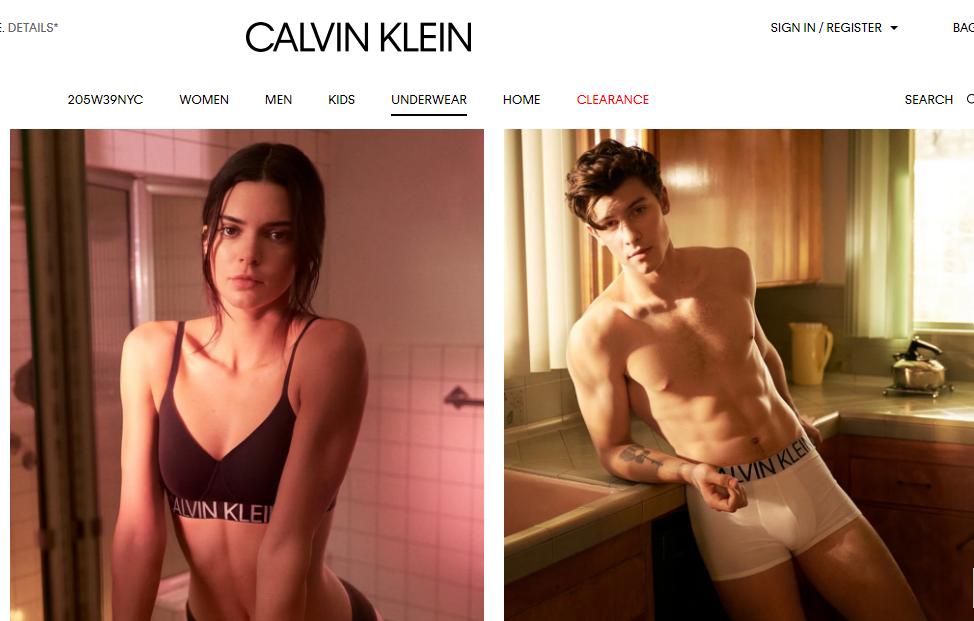 Calvin Klein 改变营销战略,推出全新数字营销企划 #MyCalvins