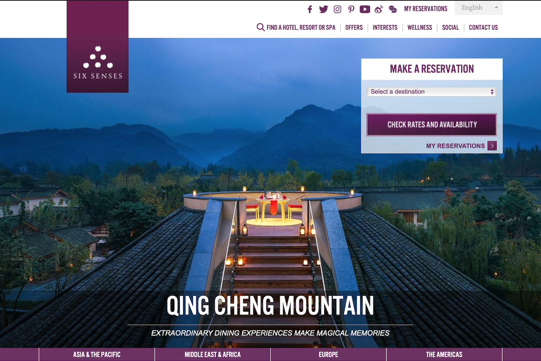 洲际酒店集团3亿美元收购奢华酒店品牌 Six Senses(六善酒店)