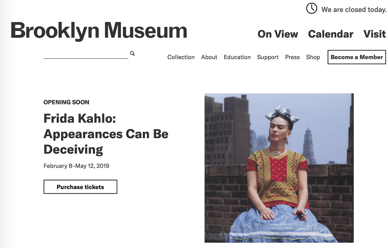 墨西哥女画家弗里达大型回顾展将在纽约举办,赞助商露华浓成为特殊亮点