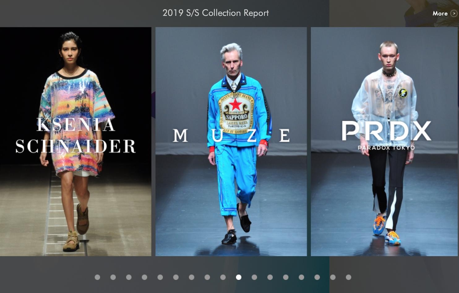 东京时装周发布2019秋冬官方日程,52个品牌参与