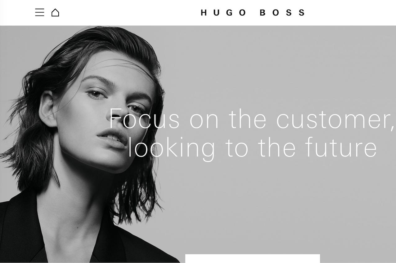 Hugo Boss 2018财年全年销售额同比增长2%,中国市场实现高个位数增长