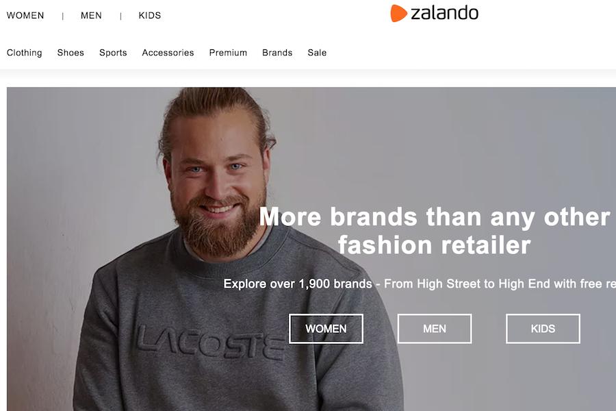 欧洲时尚电商 Zalando 2018财年销售额同比大涨20%至54亿欧元,第四季度表现尤为强劲