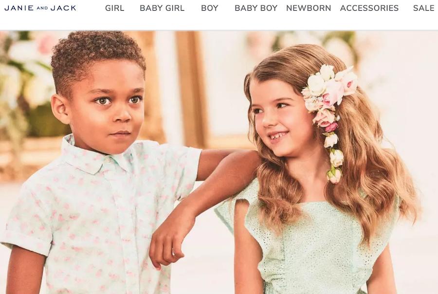 Gap 集团以3500万美元收购破产的金宝贝集团旗下童装品牌 Janie and Jack