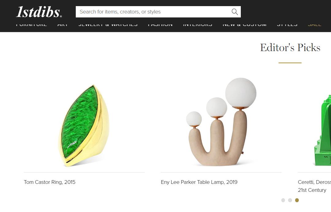 美国奢侈品交易线上平台1stdibs.com 完成7600万美元D轮融资,估值突破5亿美元