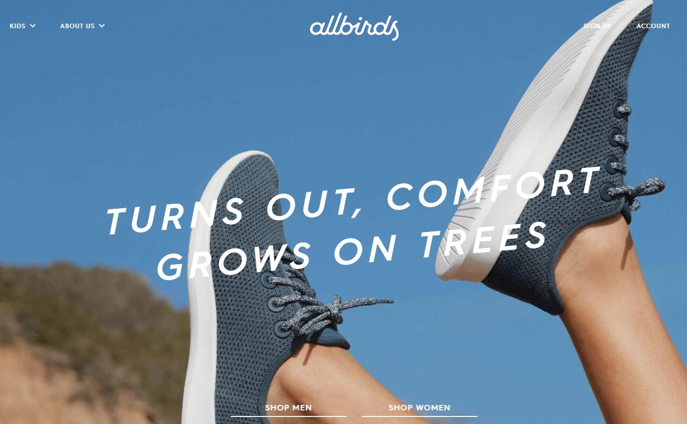 互联网起家的创新羊毛鞋履品牌 Allbirds 正式进入中国市场,首店4月落户上海