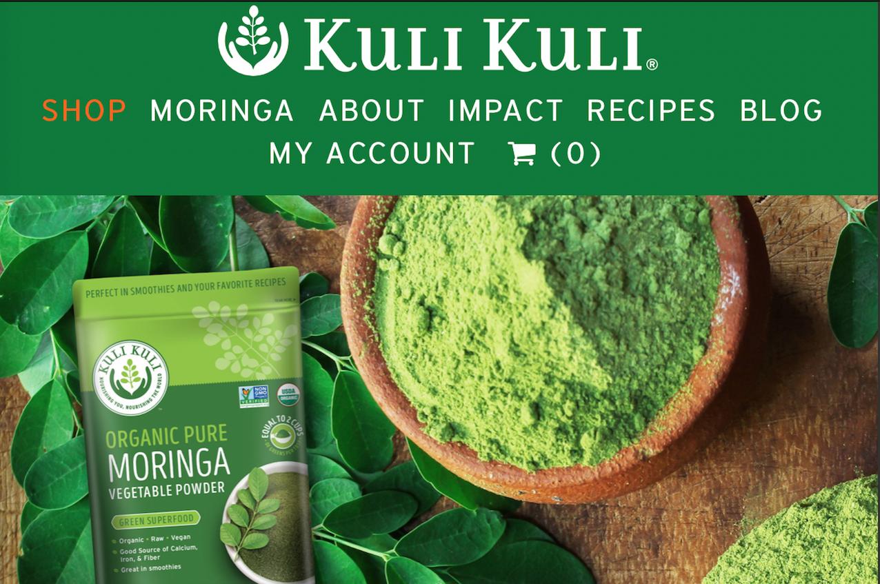 """快速崛起的""""超级食品"""":以辣木植物为原料的公益品牌Kuli Kuli 完成500万美元B轮融资"""