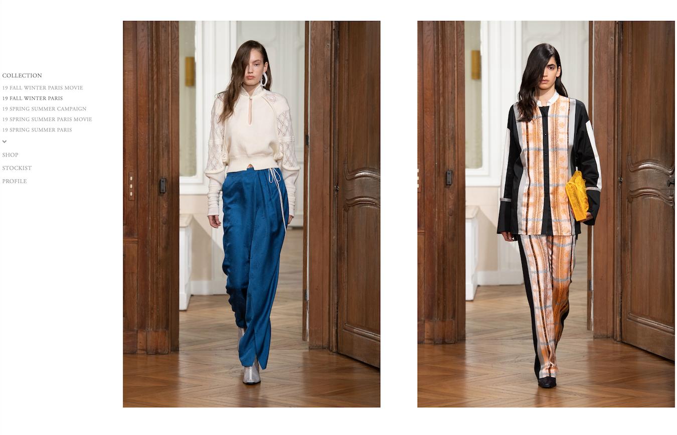 巴黎时装周上的日本新生代设计力量:黑河内真衣子,岩井良太