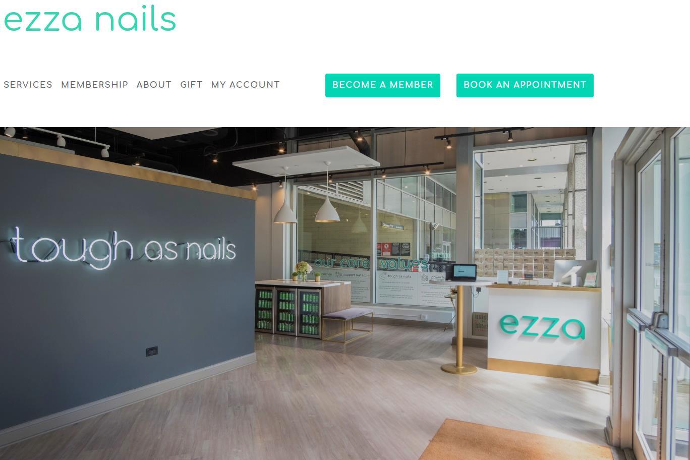 赋能女性的美甲沙龙初创品牌 Ezza Nails 完成 150万美元种子轮融资