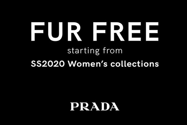 Prada 加入零皮草阵营,将从2020年春夏系列开始停止使用皮草