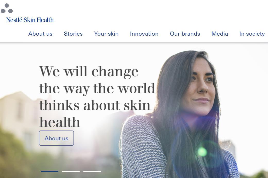 雀巢将以102亿瑞士法郎价格出售皮肤健康业务,与两家投资方进入独家谈判阶段