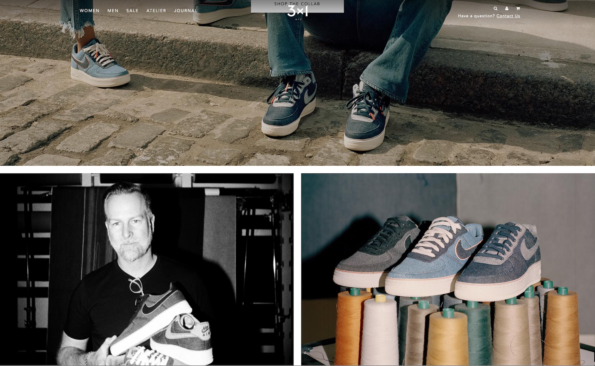 一条牛仔裤卖1200美元!NBA巨星追捧的纽约高端牛仔品牌 3×1 成为 Nike 的联名合作伙伴