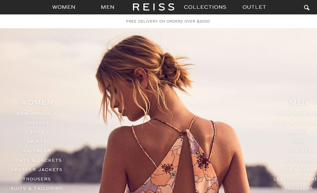 传英国轻奢时尚品牌 Reiss 持有者有意将品牌转手,Reiss发言人否认